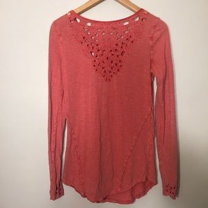 Free People Tops - Free People M long sleeve top